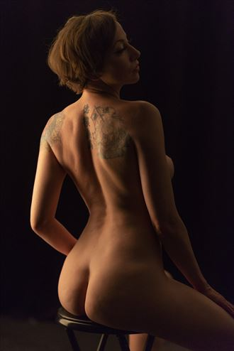 lighting for sketching sensual photo by photographer alan h bruce