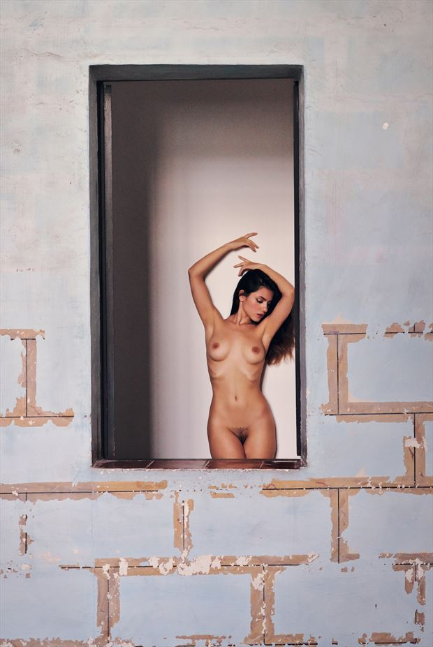 like a painting artistic nude photo by photographer germansc
