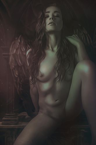 lilith erotic artwork by artist todd f jerde