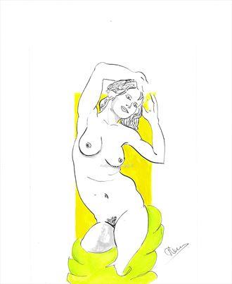 lime time erotic artwork by artist alexandros makris