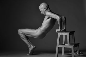lines and angles artistic nude photo by model lars
