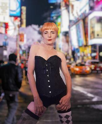 lingerie alternative model photo by model aural