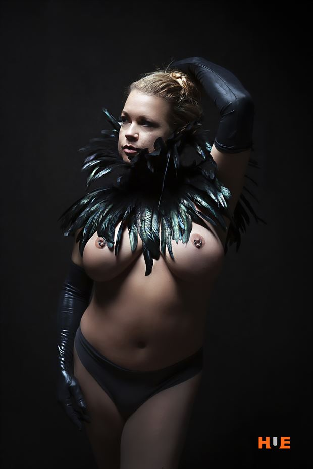 lingerie fetish photo by model angela mathis