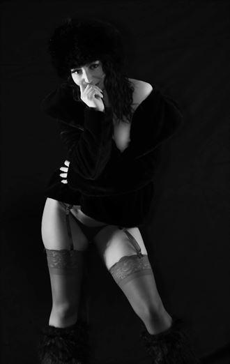 lingerie photo by model dylan fox