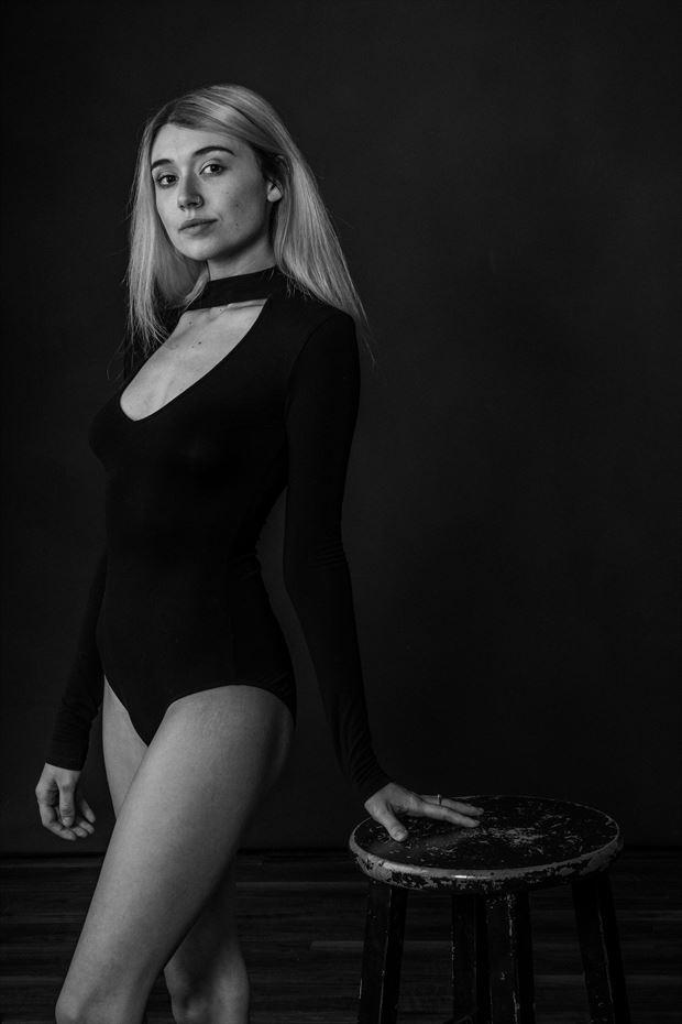 lingerie photo by model l