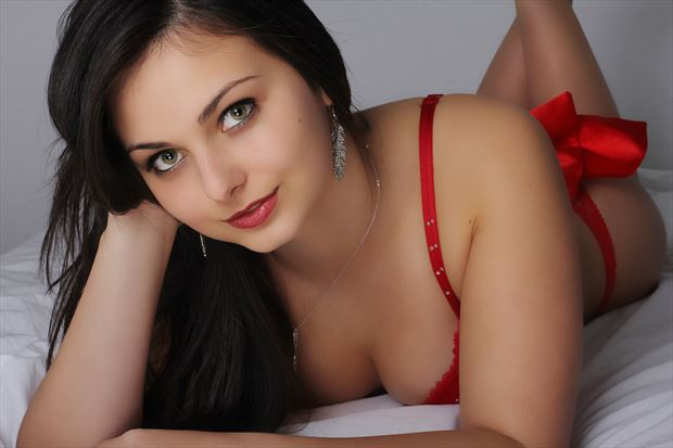 lingerie photo by model lisa elias
