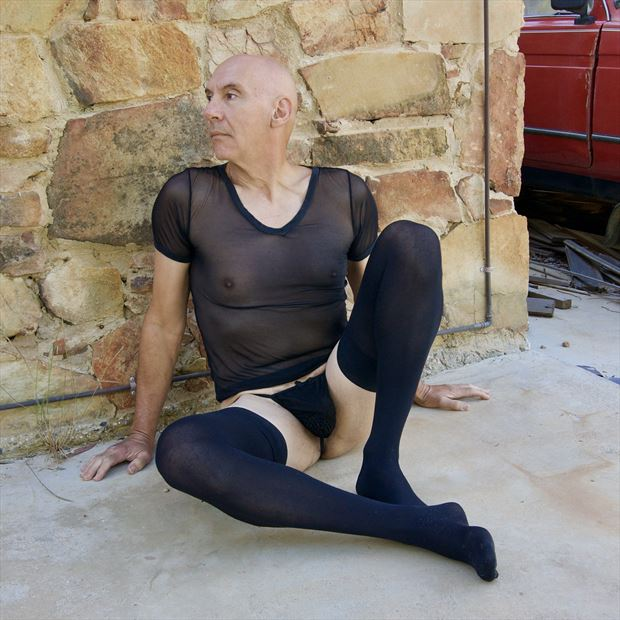 lingerie self portrait photo by model artmodel richard