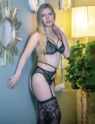 lingerie sensual photo by model andrea ivey