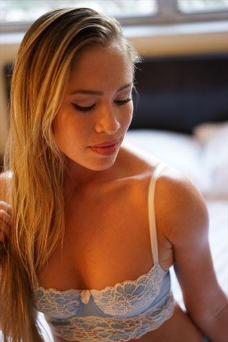 lingerie sensual photo by model andrea noeli