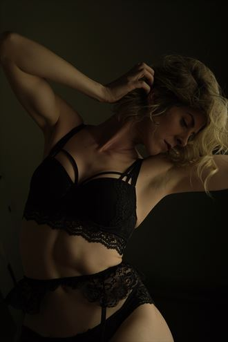 lingerie sensual photo by model cherish the model