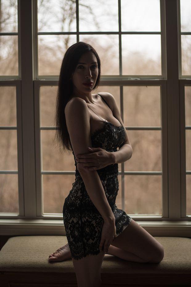 lingerie sensual photo by model jonica