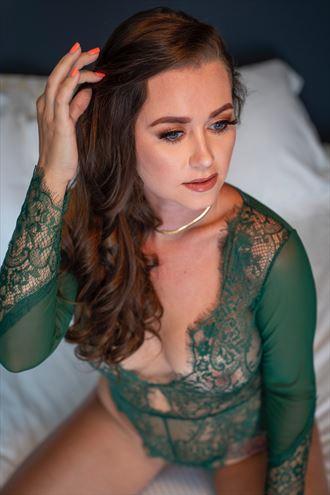 lingerie sensual photo by model lennox winter