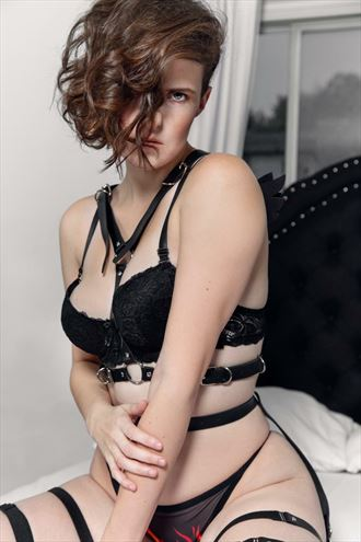 lingerie sensual photo by model rine