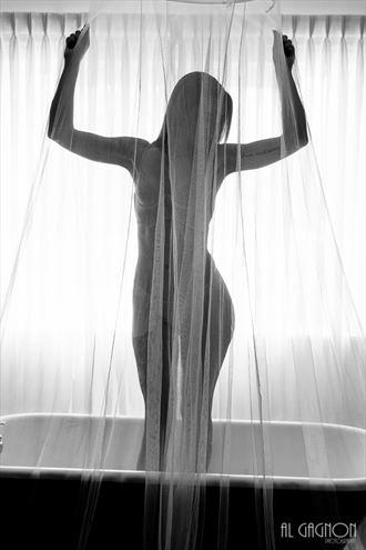 lingerie silhouette artwork by model k ferguson