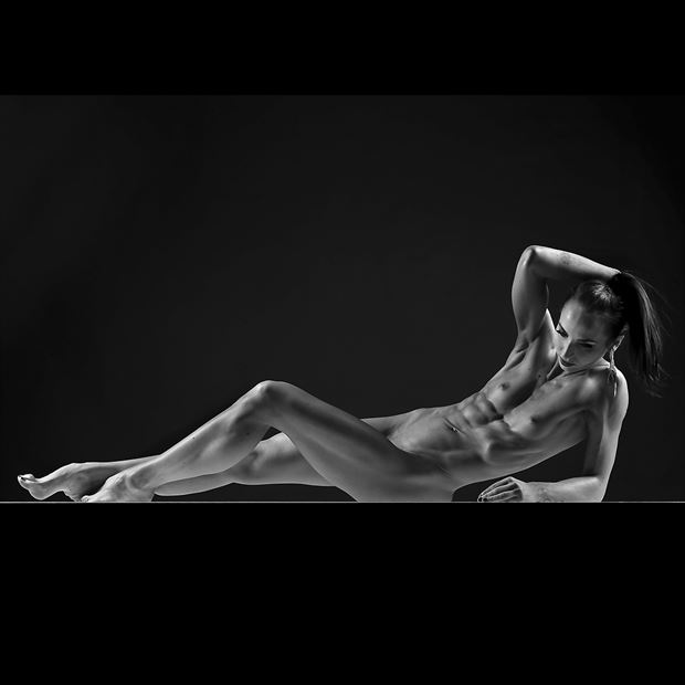 linii artistic nude photo by model bia
