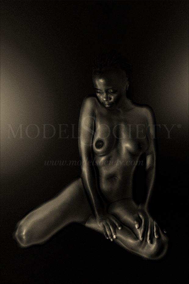 lit and alone artistic nude photo by photographer photorunner