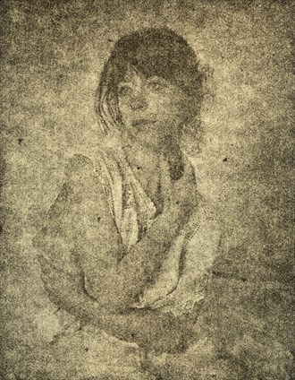 lith print Expressive Portrait Artwork by Artist Joe Name