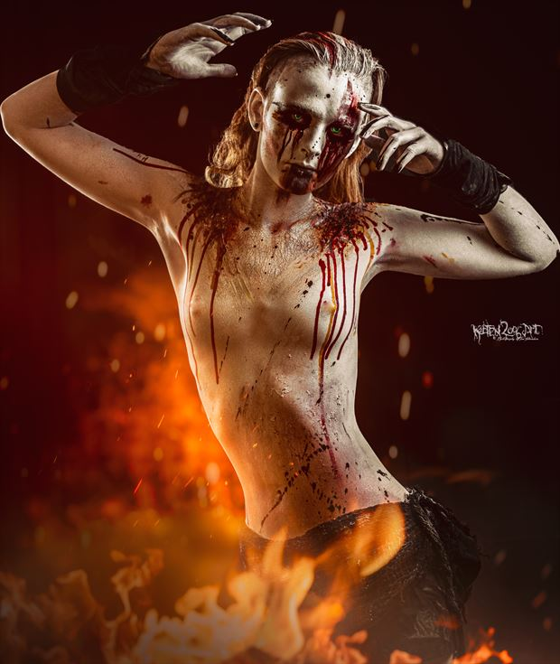 living in this hell artistic nude photo by photographer ketten2006art