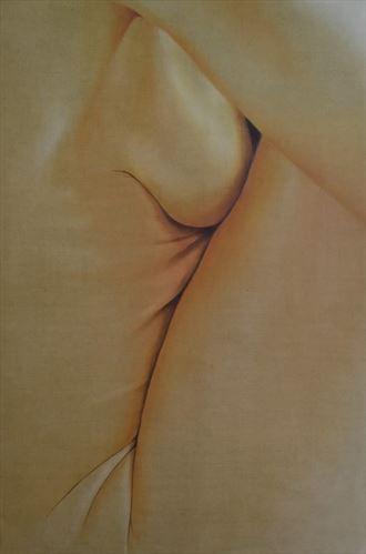 loes artistic nude artwork by artist peter ten lohuis