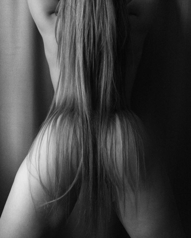 long hair olga erotic photo by photographer slavaphoto