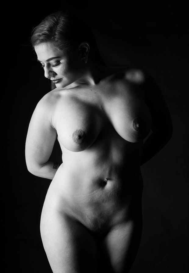 looking down artistic nude artwork by photographer gsphotoguy