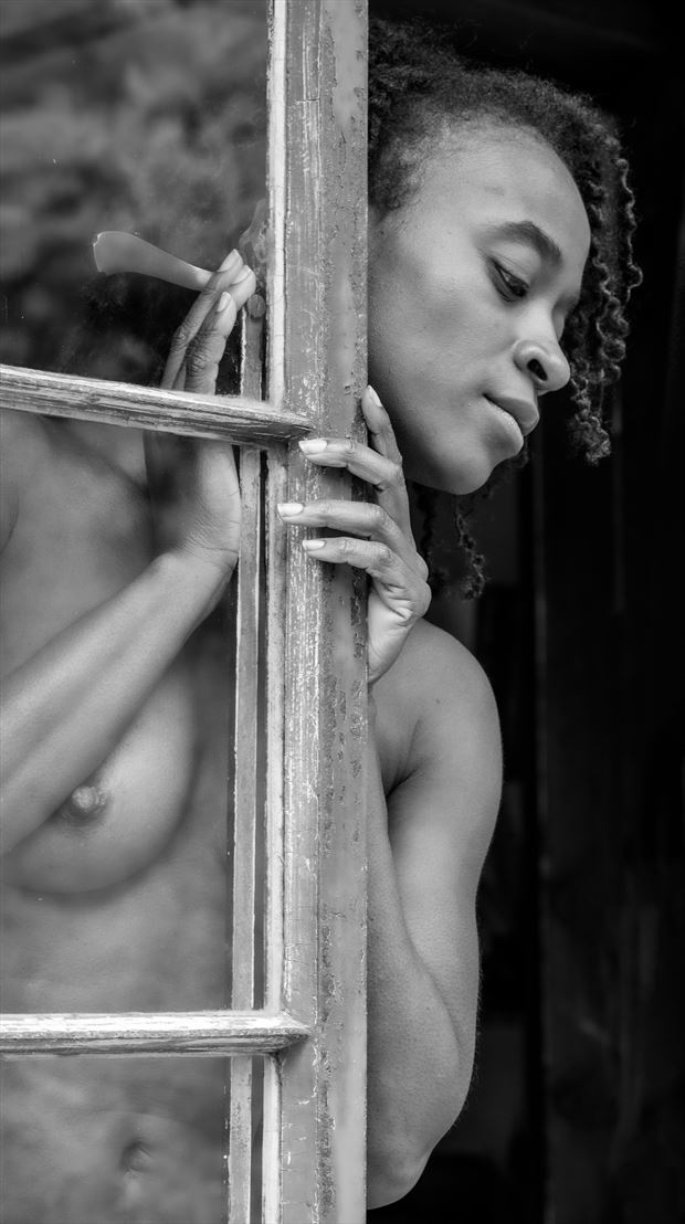 looking outside artistic nude photo by photographer gpstack