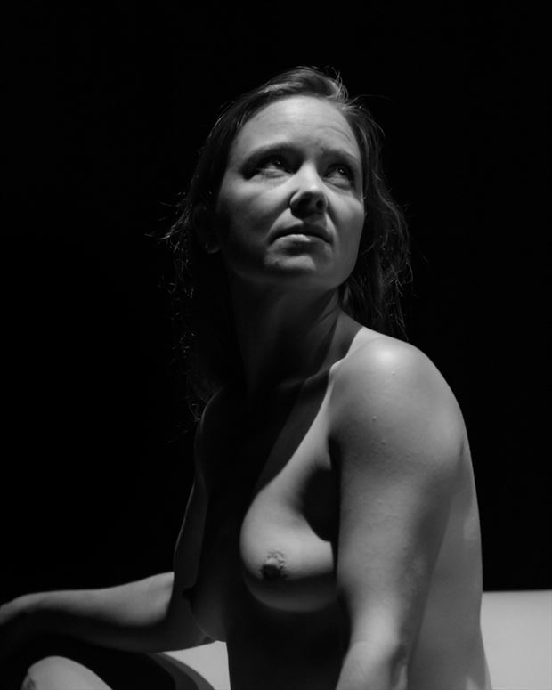 looking upwards artistic nude photo by photographer gregory holden