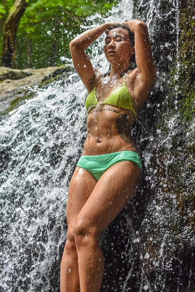 lost in the waterfall tattoos photo by photographer kj22photography