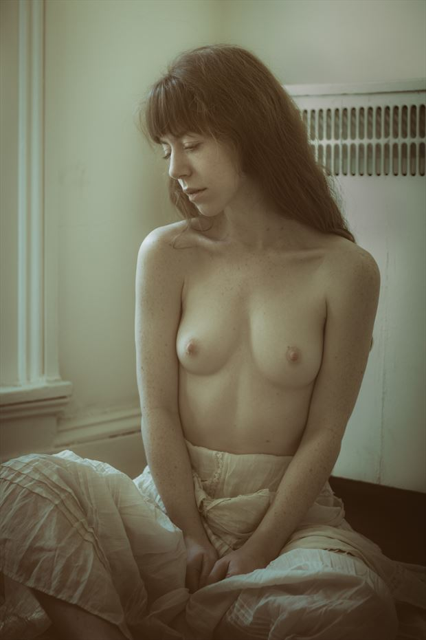 lost in thought artistic nude photo by photographer gregory holden