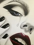 love lost close up artwork by artist leesa gray pitt