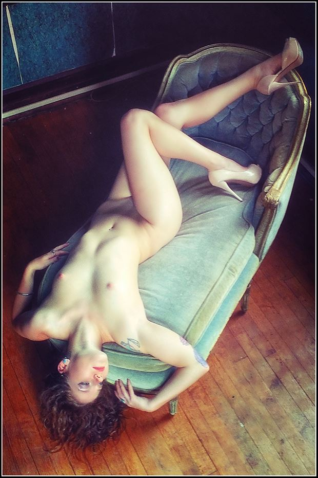 love on the chair artistic nude photo by photographer magicc imagery