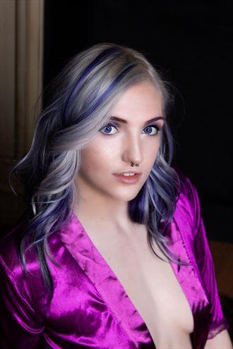 love that purple erotic photo by photographer raven inc