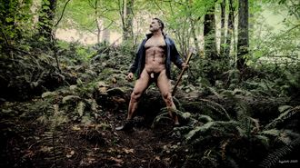 lumberjack 1 artistic nude photo by photographer barry gallegos