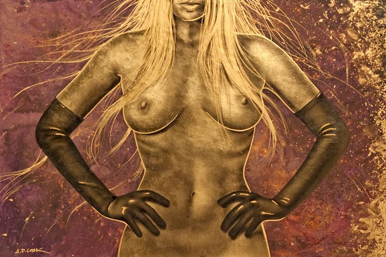 lux nev 2 artistic nude artwork by artist a d cook