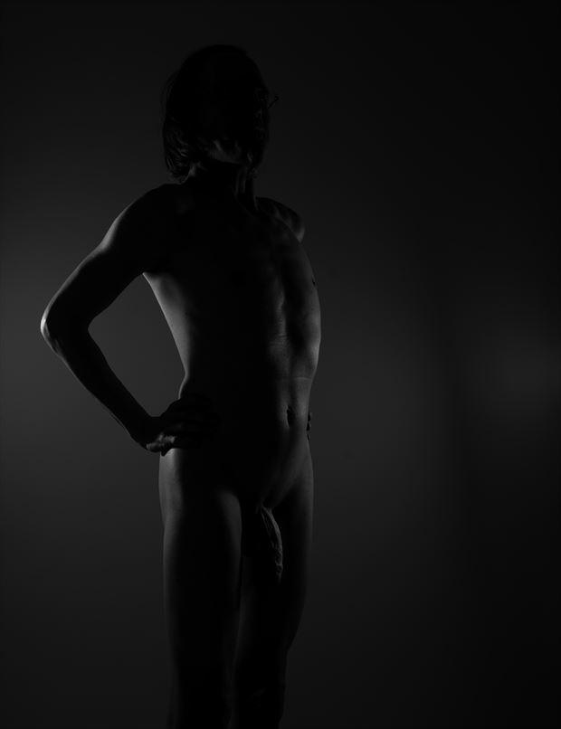 m a l e artistic nude photo by model lars