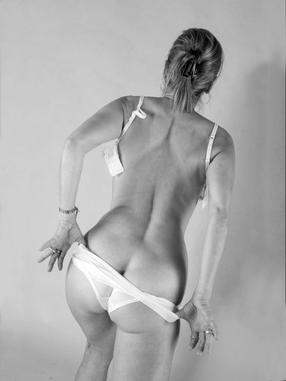 ma culotte rose 1 lingerie artwork by photographer dick