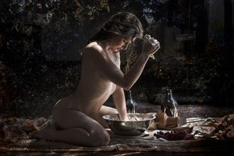 maiden baking bread 1 artistic nude photo by photographer christopher meredith