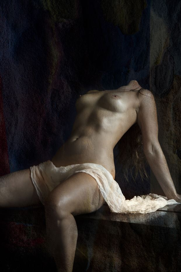 maiden in ecstasy artistic nude photo by photographer christopher meredith