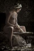 maiden with dough erotic photo by photographer christopher meredith