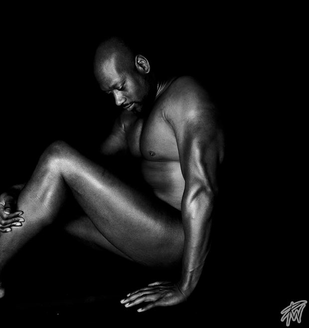man artistic nude photo by photographer pwphoto