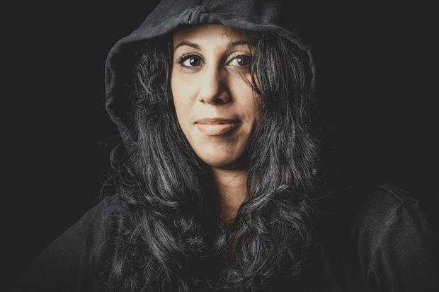 marie s black hoodie 2 studio lighting photo by photographer dlevans