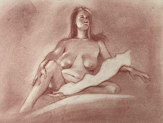 marija artistic nude artwork by artist edoism