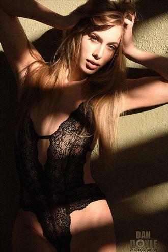 marissa z in victorias secret lingerie photo by photographer dan doyle studio
