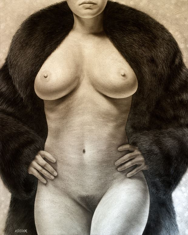 marquee artistic nude artwork by artist a d cook