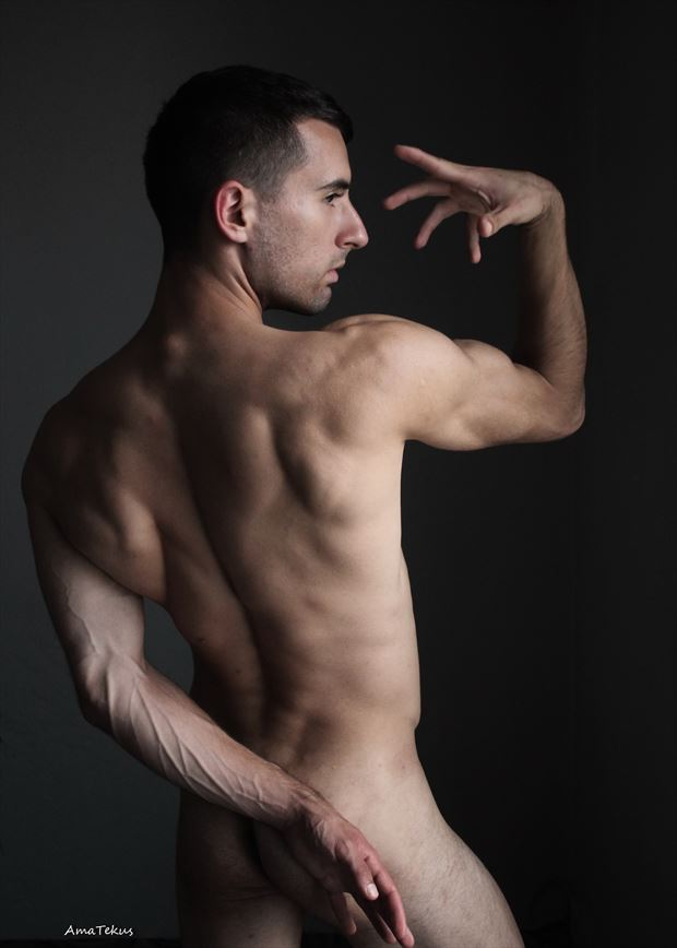 masculine artistic nude photo by model coma12