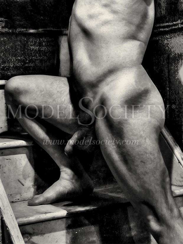 masculinity is on the rise artistic nude artwork by model masterarti