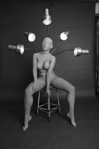 mask story artistic nude photo by photographer gee virdi