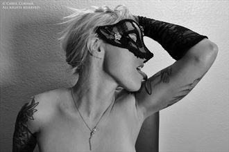 masked fetish photo by model stacey a plever
