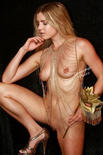 masquerade figureartmodel artistic nude photo by photographer alan james