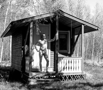me myself and i artistic nude photo by photographer janne